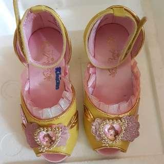 Authentic Disney Belle Gold Shoes