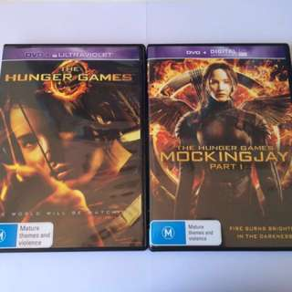 Hunger Games DVD's