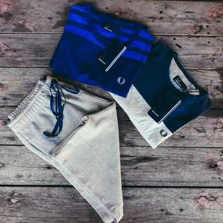 Fred Perry Shirts & Jogger Shorts
