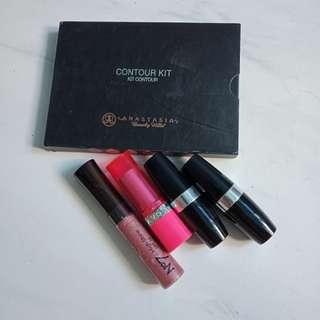 Make up bundle (contour kit, lipstick)