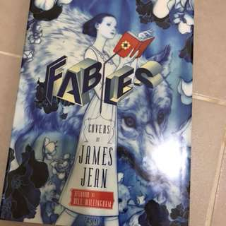 Fables Covers by Jame Jean