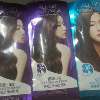 ChaHong  차홍 famous korean hair stylist ALL HIT HAIR PACK EFFECTIVE