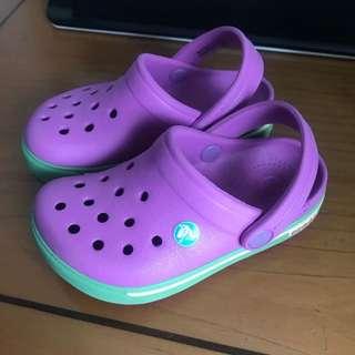 CROCS Crocband Kids Purple (Preloved)