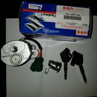 Kunci kontak satria F Magnet
