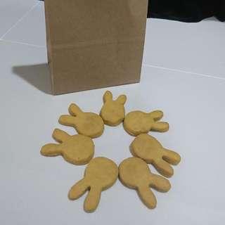 Carrots & Peanut Bunny Cookies
