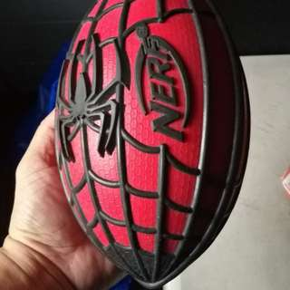 Marvel spiderman nerf football