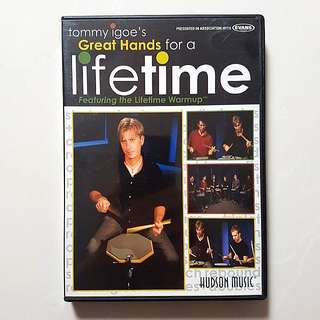 Drum DVD & eBook: Tommy Igoe Great Hands For A Lifetime