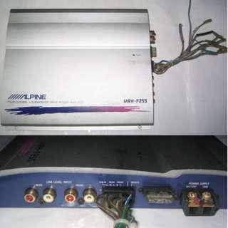 Alpine MRH-F255 Car Amplifier 4-channel