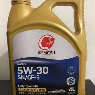 Idemitsu 5W-30 engine oil