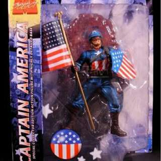 Marvel Diamond Select The Ultimates Captain America
