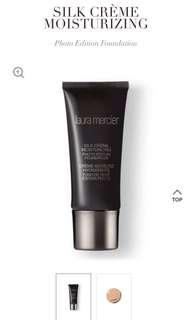 Laura Mercier silk creme moisturizing photo finish foundation