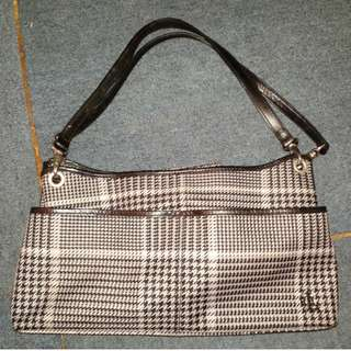Checkered Hand bag