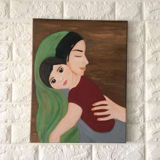 Mother & Child Painting