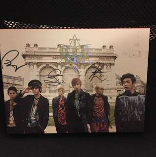 Official signed teen top NO.1 ALBUM