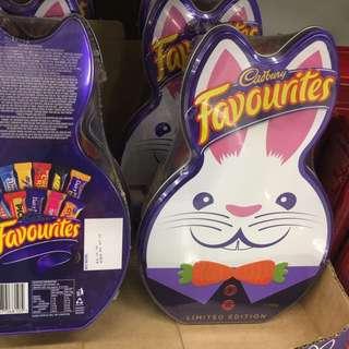 Cadbury Favourites 復活節兔子盒裝綜合巧克力