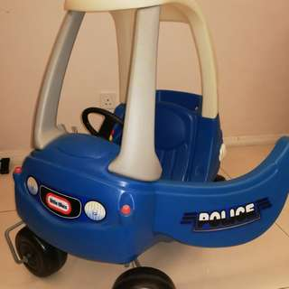 Little Tikes Police Car - Blue