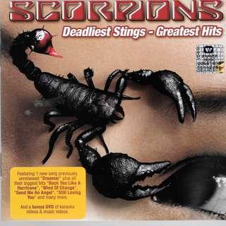 MY PRELOVED CD- SCOPIONS DEADLIEST STINGS -- GREATEST HITS / FREE DELIVERY (F3E)