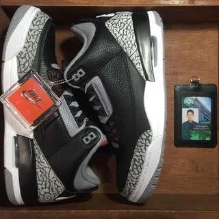 Jordan 3 'Black Cement'