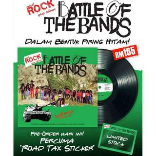 LP Vinyl Battle Of The Bands Round 1 Limited stock