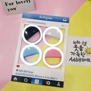 SELFIE RING LIGHT CUTE (PO)