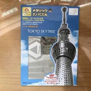 Tokyo sky tree 晴空塔模型