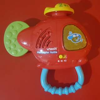 VTech Helicopter Rattle with music