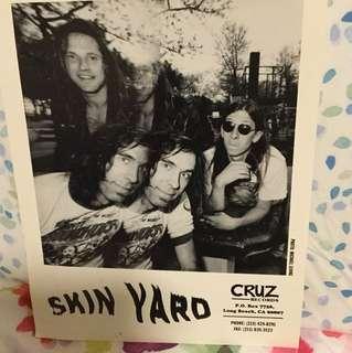 Skin Yard - original promo photo - grunge era collectable