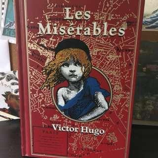 Les Misérables by Victor Hugo (Hardbound Leather Canterbury Classics)