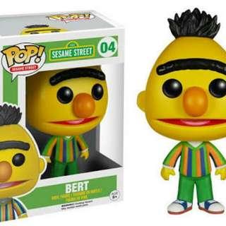 Bert Sesame Street Funko Pop #04
