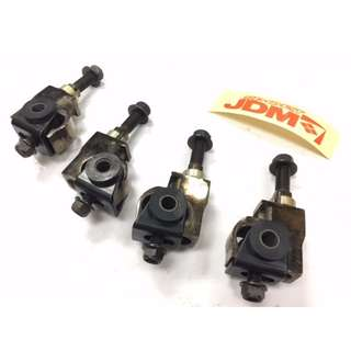 JDM   Civic EF/EG 88-95, Integra 90-01, Prelude 92-01,  Odyssey 95-98  &  Accord 94-97, Celica 89-99,  MR2 91-97  front adjustable camber kits  BLACK COLOR  model 28476