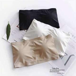 Tube bra fits S-L fabric : seamless