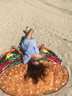 Hamburger Beach Mat