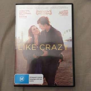 DVD Like Crazy