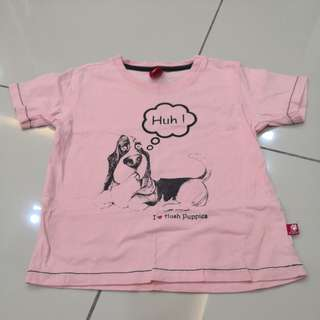 Hush Puppies Top (3-4t)