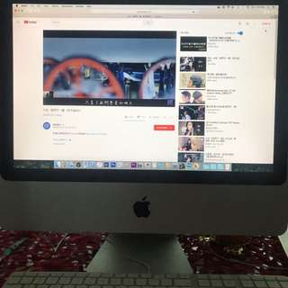 Cheap working condition Apple iMac 20 inch