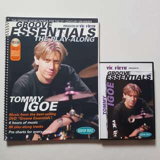 Drum DVD & Book: Tommy Igoe Groove Essentials