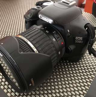 Canon 550d with Tamron 17-50mm F2.8