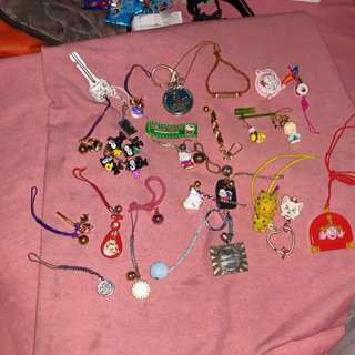 Assorted keychains available ....