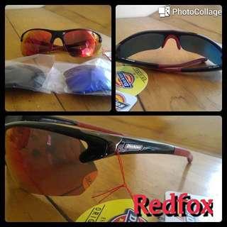Dickies Sunglass RedFox