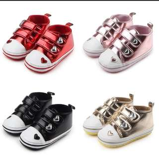 Heart Baby Shoes PreOrder