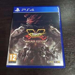PS4 Streetfighter V Arcade Edition