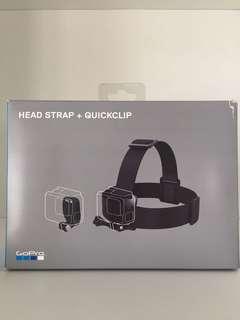 gopro head strap & quickclip