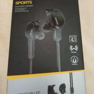 Remax RB-S5 Sport Bluetooth headset black