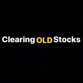 Clearing OLD stocks