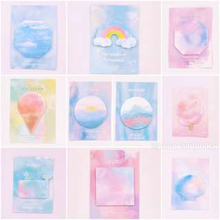 [INSTOCK] Watercolor sticky notes/ postit
