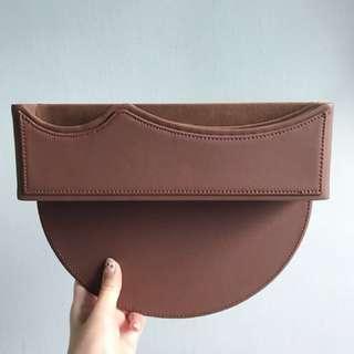 NEW 2 pcs Car Leather Organisers/Storage