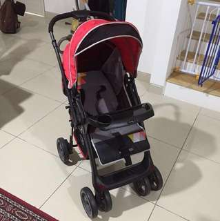 Tobby.co Stroller (with its carseat)