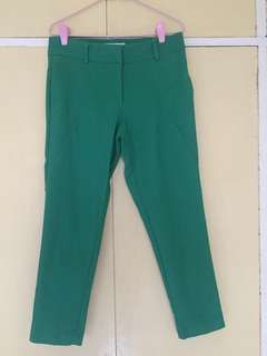BYSI cropped pants (green)
