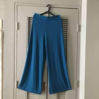 Aqua palazzo pants