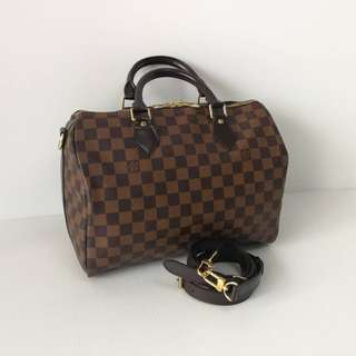 Authentic Louis Vuitton Speedy 30 Damier